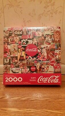 1998 coca cola 2000 jigsaw puzzle factory sealed