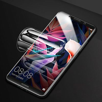 For Huawei P20 Pro Lite Honor 8X Hydrogel Soft Full Coverage Screen Protector GE