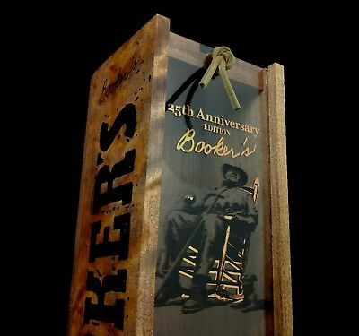 Limited Edition Booker's 25th Anniversary Bourbon Box Kentucky Whiskey Jim Beam