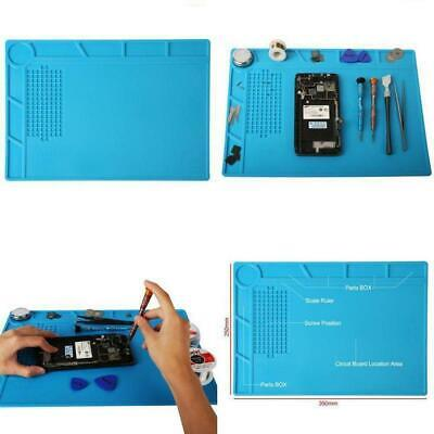 Anti Static Magnetic Heat Insulation Silicone Pad Desk Soldering Repair Work Mat