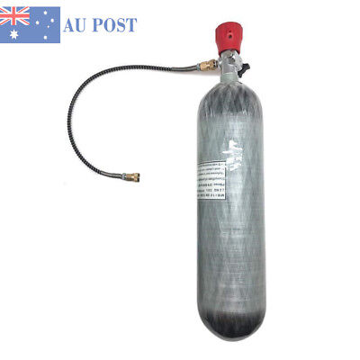 3L CE Air PCP 4500Psi Tank Carbon Fiber Cylinder Scuba Fire Fighting/ Breathing