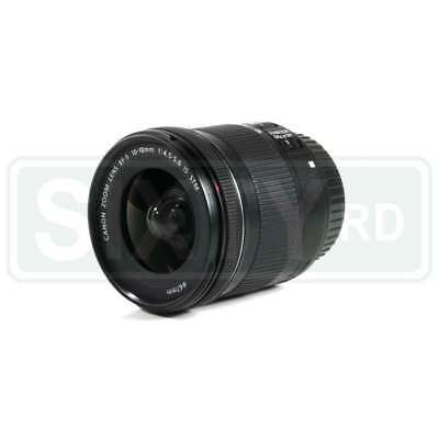 Genuino Canon EF-S 10-18mm f/4.5-5.6 IS STM Lens (Retail Box)