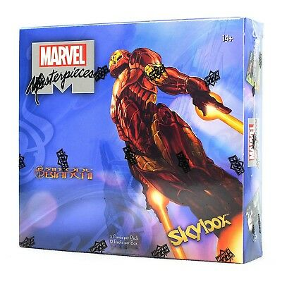2018 Upper Deck Marvel Masterpieces Hobby Box BRAND NEW ,SEALED