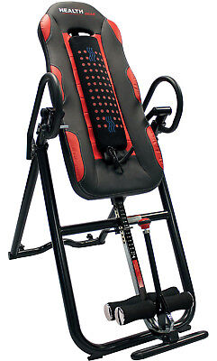Health Gear Deluxe Inversion Table with Heat and Massage ITM6000-R_New_FreeShip