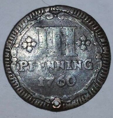 Germany Munster 1760 lll Pfennig