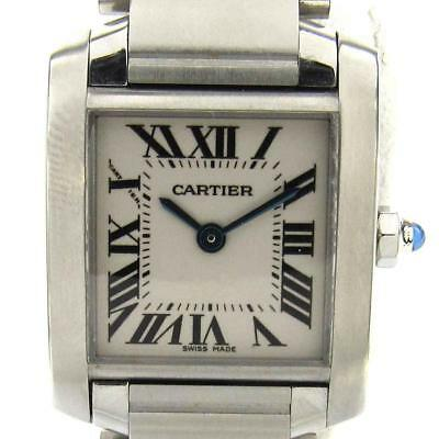 ad622986589f6 Auth Cartier Tank Francaise SM Watch Women W51008Q3 Stainless steel (SS)  Used