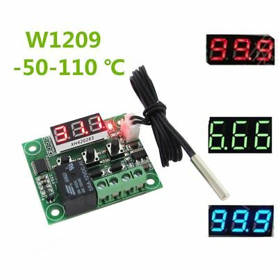 Digital Display Thermostat Sensor Module Temperature Control Switch ON/OFF