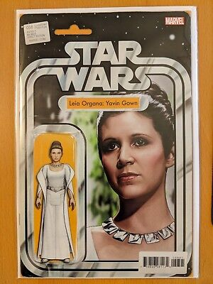 STAR WARS #58 JTC Leia Organa Yavin Gown Action Figure Variant Limited Edition!
