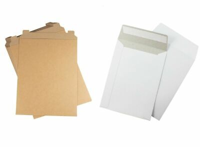 Rigid Photo Document Mailers Stayflat w/ Tear Tab 28 pt Choose Your Color & Size