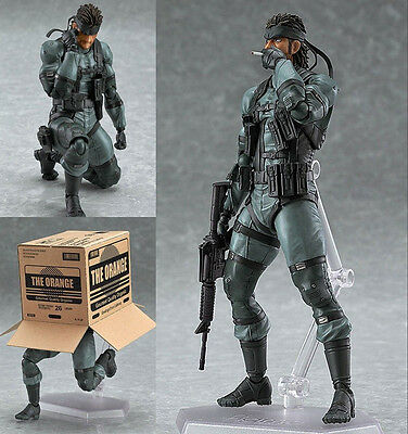 Figma 243 Metal Gear Solid Solid Snake 2 Action Figuren Figur Figure Actionfigur