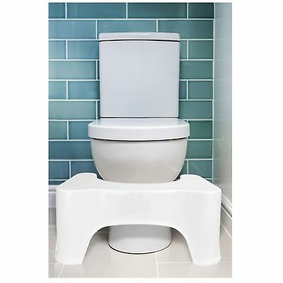 Toilet Squatting Step Stool Bathroom Potty Squat Aid Constipation Piles Relief