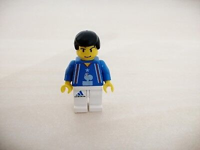 lego Minifigurine soc101 SOCCER PLAYER FRENCH TEAM NUMBER10 SET 3420-3