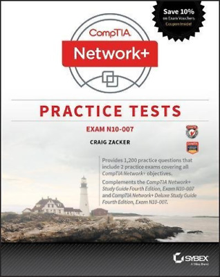 Zacker Craig-Comptia Network+ Practice Tests (UK IMPORT) BOOK NEW