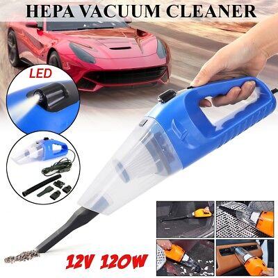 Car Home Vacuum Cleaner Hoover Wireless Wet/Dry Rechargeable Dust Collector