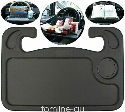 Car Steering Wheel Tray Laptop Table Mount Eating Food Stand Desk Drink Holder