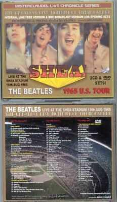 Beatles Live At Shea Stadium 2Cd/1Dvd