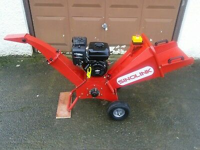 Gs 80 wood chipper Briggs and Stratton 6.5hp