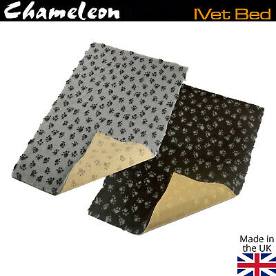NON-SLIP High Grade Vet Bedding Paws DOG WHELPING FLEECE PUPPY PRO BED