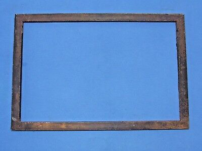 "LETTERPRESS LARGE RECTANGULAR STEEL CHASE Size 9.5"" x 15"" for Flatbed"