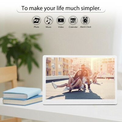 """15.6"""" 1080P LED Digital Picture Photo Frame Movie MP4 Player Remote Control L5A3"""