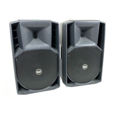 RCF ART 415-A Digital Active Speaker with covers (Pair)  - (Pre-Owned)