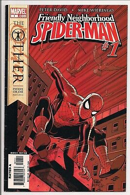 Marvel Comics Friendly Neighborhood Spider-Man Vol 1 1 Dec 2005 First Ap Tracer