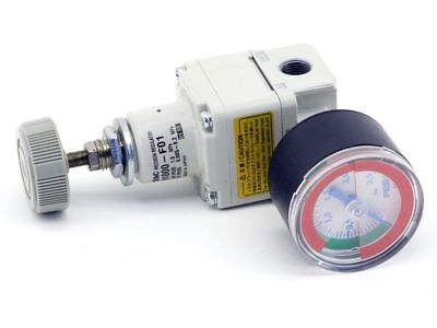 SMC IR1000-F01 Precision Regulator Präzisions-Druckregler FESTO Manometer 546963