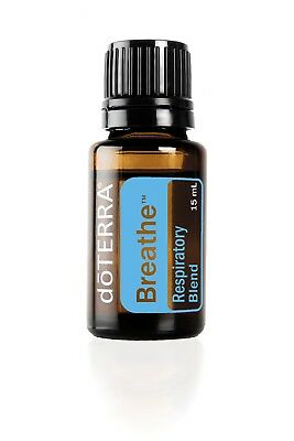 Lot of 2 bottles of doTERRA Breathe Essential Oil 15ml--Factory Sealed