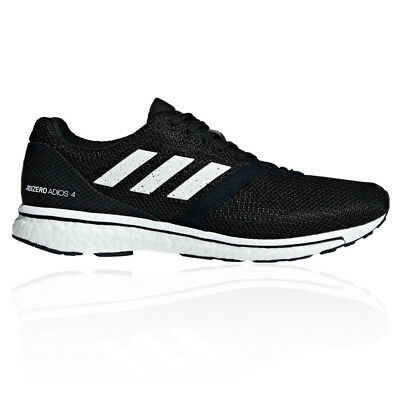 adidas Mens Adizero Adios 4 Running Shoes Trainers Sneakers Black Sports 3c2a7b0fe
