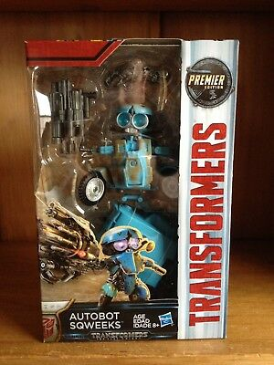 Transformers The Last Knight TLK Premier Edition Deluxe Autobot Sqweeks MISB