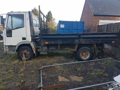 Iveco ford 7 1/2 tonne tipper