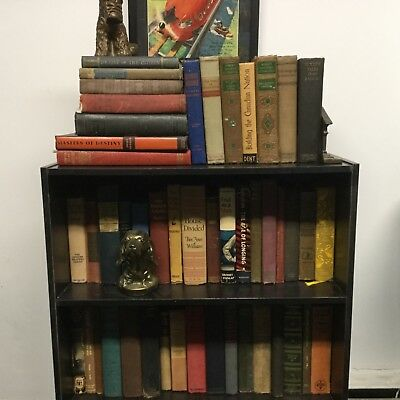 Lot of 10 ANTIQUE Old Vintage Books MIXED Rare Hard To Find  - All Hardcover