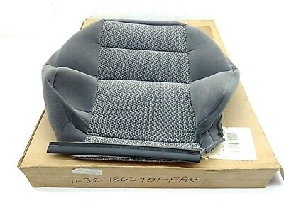 OEM 2001 Ford F-150 Seat Cushion Cover Dark Graphite Left Hand Side Cloth