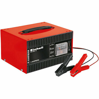 Caricabatterie auto Einhell CC-BC 5 - 12V - batterie auto a 200A -  in acciaio
