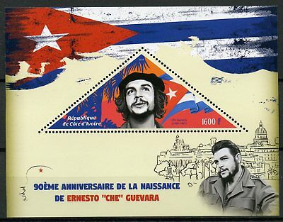 Ivory Coast 2018 MNH Ernesto Che Guevara 1v S/S Famous People Stamps