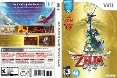 Nintendo Wii Replacement Game Case and Cover Legend of Zelda Skyward Sword, The