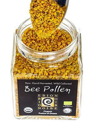 BEE POLLEN 100% Organic Greek Bee Pollen Imported from the Arta Mountains (125g)