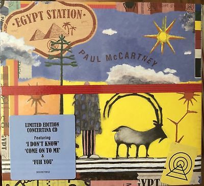Paul McCartney Egypt Station(CD, Sep-2018, Capitol) NEW FREE SHIPPING