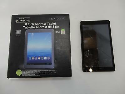 """Nextbook NXA8QC116 Ares 8 Android Tablet 8"""" Display 8GB Wi-Fi READ!!!"""