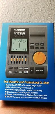 Boss DB-90  Metronome beat with Tap Tempo