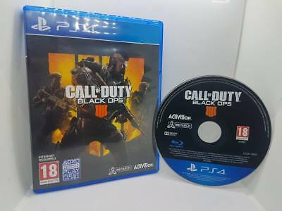 Call Of Duty Black Ops IIII 4  Sony PlayStation 4 PS4 Game