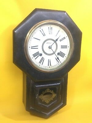 Antiguo Reloj Zenith De Pared Del Año 1910