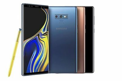 Samsung Galaxy Note9 SM-N960U1-128GB and 512GB GSM Unlocked Smartphone