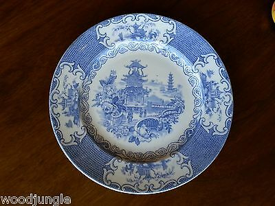 RARE Antique ALLERTONS ENGLAND CHINESE PLATE