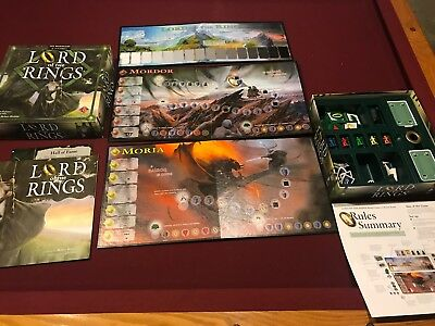 Lord Of The Rings Board Game By Reiner Knizia Fantasy Flight