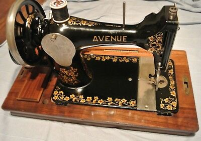 Vintage Avenue Sewing Machine, antique home decor