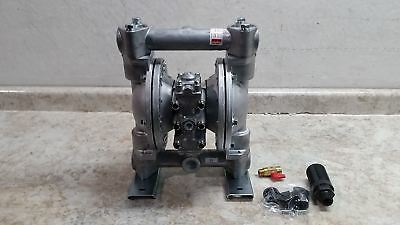 Dayton 6PY44 49 Max GPM 100 Max PSI Air Operated Double Diaphragm Pump