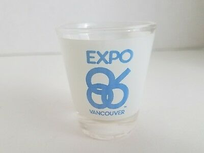 Expo 86 Vancouver BC Canada World's Fair Exposition Shot Glass