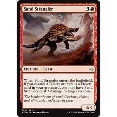 3x MTG Sand Strangler NM - Hour of Devastation