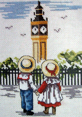 Cross Stitch Kit BIG BEN - ALL OUR YESTERDAYS - Faye Whittaker DMC K4141 (CXB15)
